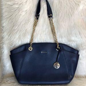 💯% Authentic Furla Saffiano Leather Tote Bag